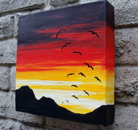 acrylic paint on canvas ideas 20 and acrylic painting ideas for enthusiastic