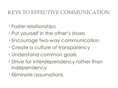 Mba In Communication And Relations by Fostering Relationships Effective Communication Between