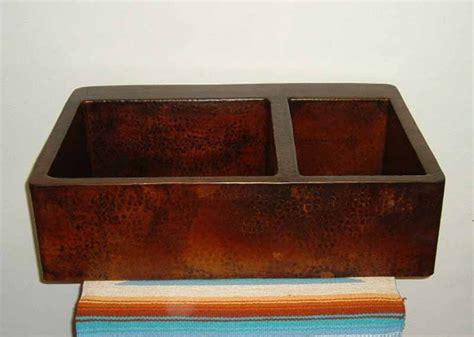 copper farmhouse sinks copper farm sinks copper apron