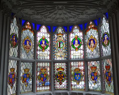 glass windows for houses file stained glass windows at strawberry hill house 41 jpg wikimedia commons
