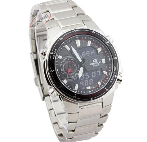 Casio Edifice Efa 131d 1a1 new casio edifice efa 131d 1a1 efa131d mens fashion sports