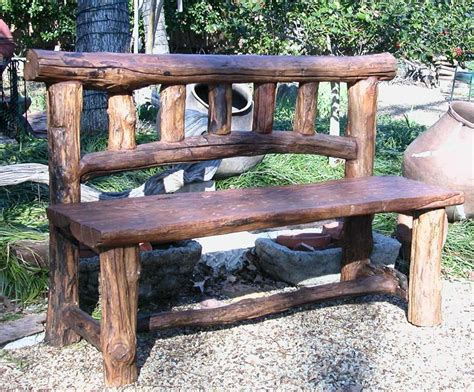 long garden bench plain rustic wood outdoor furniture oak 2 beam long garden bench