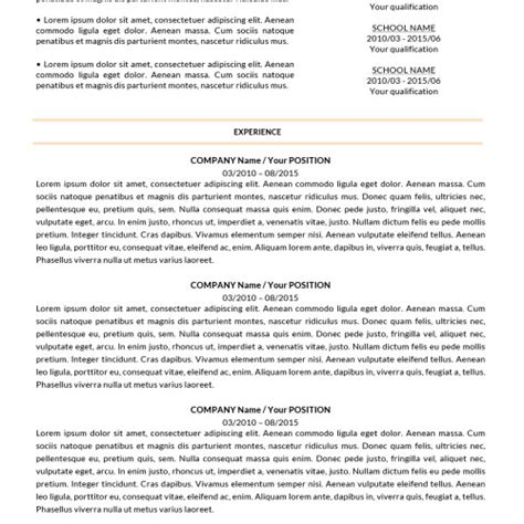shop for creative resume templates from resume shoppe