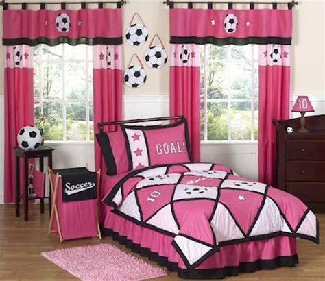 soccer comforter queen girls soccer bedroom pink soccer bedding for girls twin