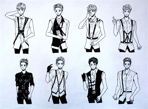 exo growl anime www pixshark images galleries with