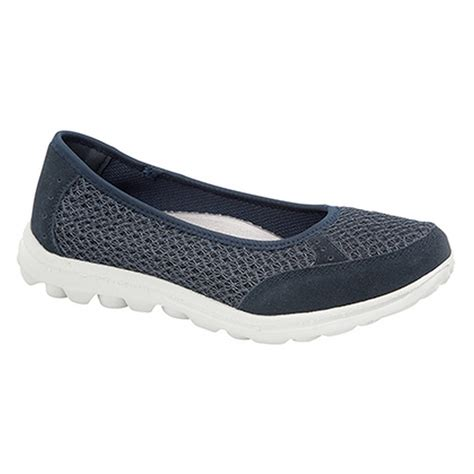 boulevard womens slip on memory foam shoes ebay