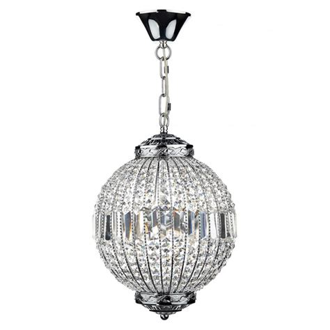 Glass And Chrome Pendant Lights Modern Chrome Glass Ceiling Pendant Ideal For Entrance