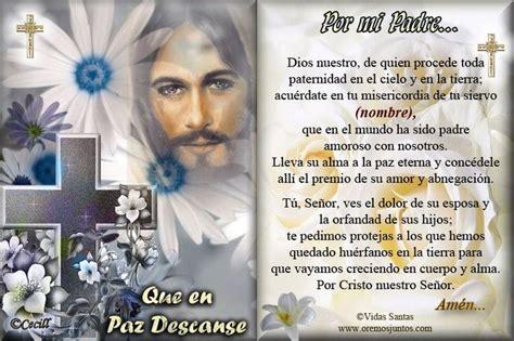 diseos esquelas difuntos oraciones catolicas para difuntos estas oraciones por