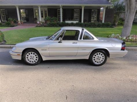 buy used 1986 alfa romeo spider quadrifoglio convertible 2