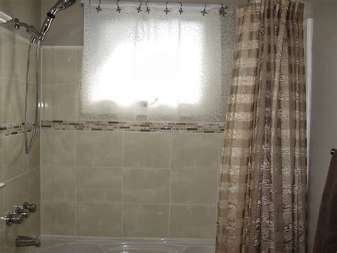 Bathroom Ideas With Shower Curtain by Flowers On The Roof Curtains For A Bathroom Window