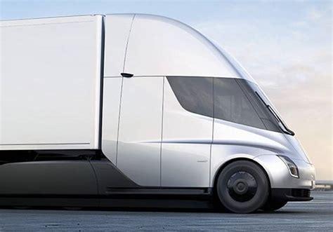 electric semi truck waste management company orders 50 electric tesla semi trucks