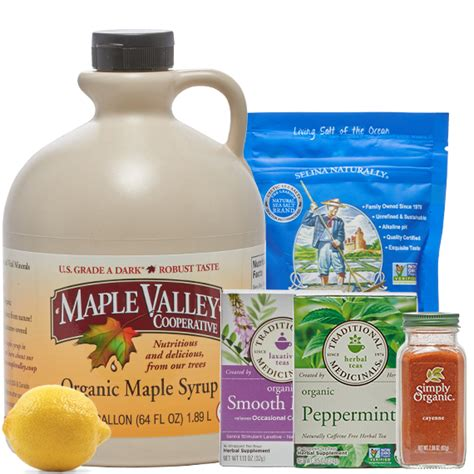 Maple Syrup Detox by 10 Day Master Cleanse Kit Maple Valley Cooperative