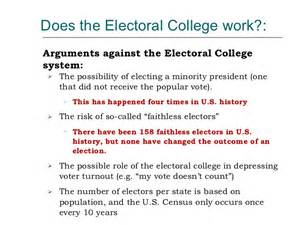 Electoral College Pros And Cons Essay by Supporting Electoral College Essay Mfacourses451 Web Fc2