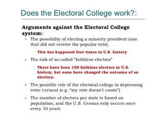 Electoral College Essay by Electoral College Essay
