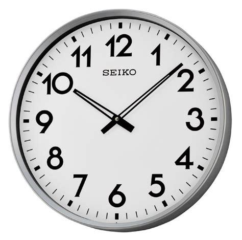 Jam Dinding Seiko Qxa615b wall clock seiko big numbers wall clocks at priisma