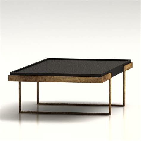 west elm coffee 3d west elm addison coffee table high quality 3d models