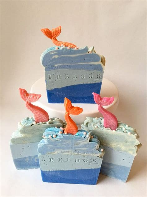 Beautiful Handmade Soap - the sea is a magical fantastical soap that is
