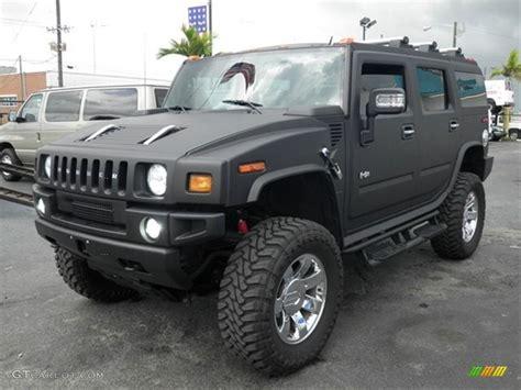 jeep hummer matte black 2007 hummer h2 suv custom matte black hummer h2