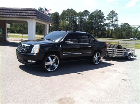 how cars run 2007 cadillac escalade ext transmission control purchase used 2007 cadillac escalade ext platinum in lynn haven florida united states for us
