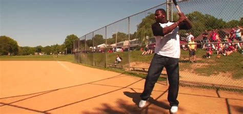 how to swing a bat faster how to hack a baseball bat the ryan howard speed test