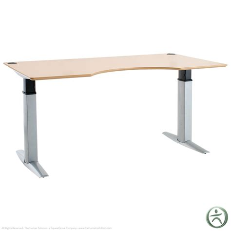 Sit To Stand Desks by Conset 501 23 Laminate Electric 26 Quot 46 5 Quot Sit Stand Desk