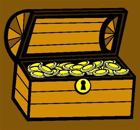 dibujo de un tesoro dibujo de tesoro pintado por cofre en dibujos net el d 237 a