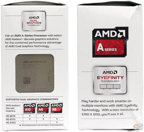 Ad6300okhlbox A4 6300 Amd Processor amd a4 6300 gecid