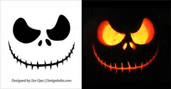 Free scary halloween pumpkin carving patterns stencils ideas 2014 4
