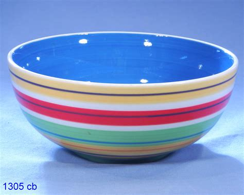 Antique Victorian Vases Whittard Hand Painted Striped Cereal Bowl Sold