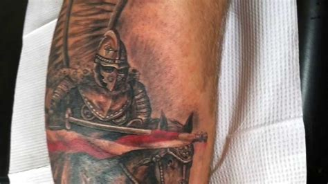 polish hussar tattoo by artur szolc youtube