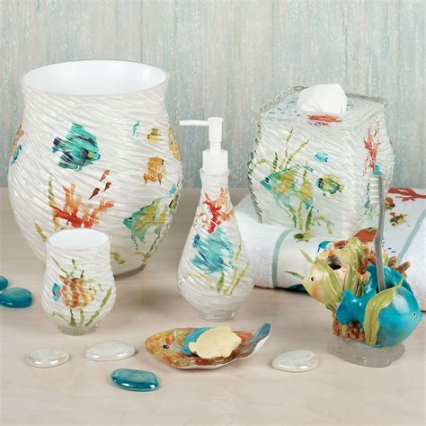 Fish Bathroom Accessories Rainbow Fish Bath Accessories