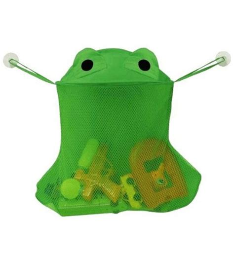 frog toy holder bathtub bath toy holder frog in kids bath accessories