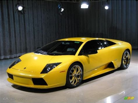 yellow and black lamborghini 2002 pearl yellow lamborghini murcielago coupe 30030677