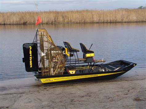fan boat hp 13 panther airboat