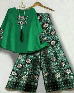 Atasan Top Blouse Set Kulot Motif Marbella Set 7636 best i batik images on kebaya batik dress and batik fashion