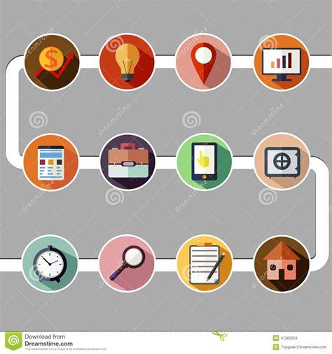 design analysis icon design services icon set business management and data analytics icon set stock
