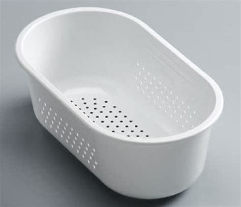 small plastic sink bowl franke compact cp651sb strainer bowl