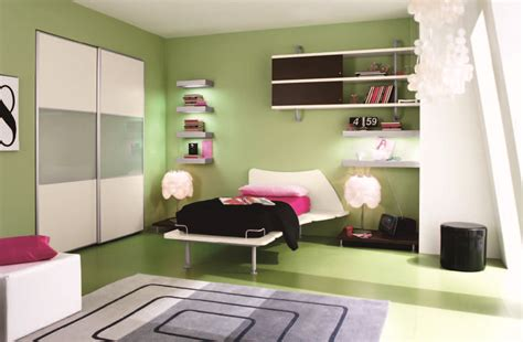 comfortable interior design comfortable stunning green bedroom interior design
