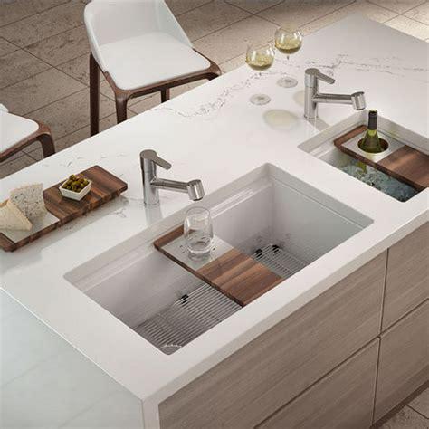 fireclay undermount kitchen sink fira collection single undermount fireclay bar kitchen
