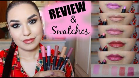 n velvet matte lip color review swatches new n velvet matte lip colors