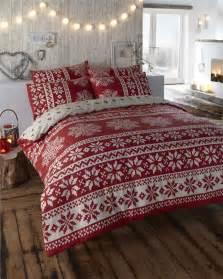 Flannel Duvet Cover Sets Winter Alpine Snow Flake Design Duvet Cover Bed Sets