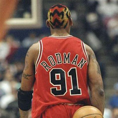 Dennis Rodman Hairstyles by The 100 Worst Nba Players Haircuts Nba News Rumors
