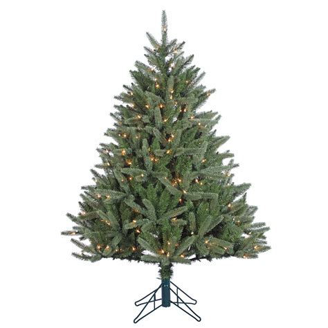 4 5 pre lit montana fir christmas tree shop your way