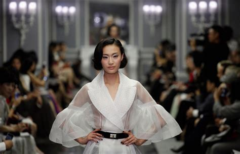 Whats Haute In The Uk by Bill Gaytten S Summer 12 Haute Couture Shanghai