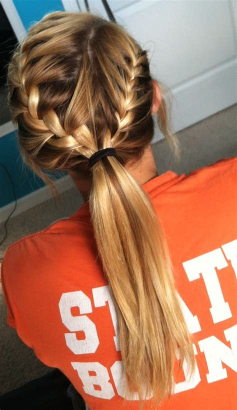 hairstyles for school games 11 everyday hairstyles for french braid popular haircuts