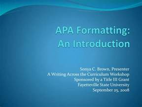 apa powerpoint template ppt apa formatting an introduction powerpoint