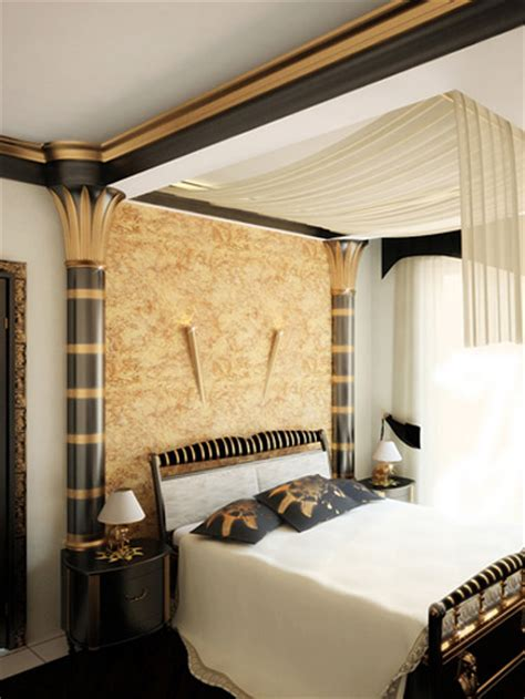 egyptian themed bedroom egyptian interior style modern room decorating ideas