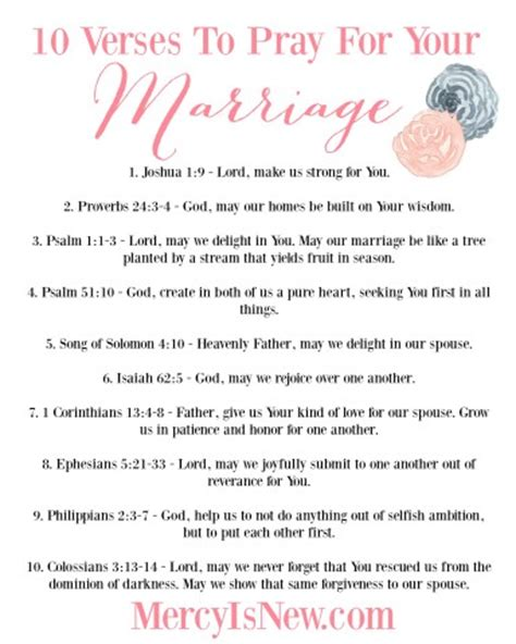 40 scripture based prayers to pray your books 10 verses to pray for your marriage give away his