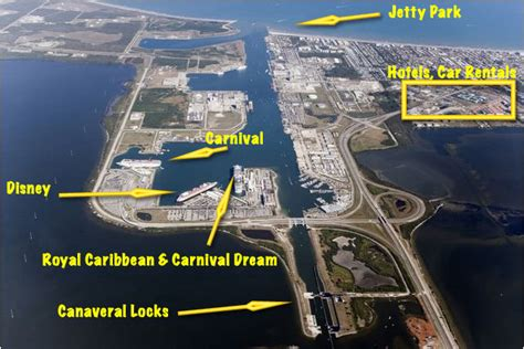 Port Canaveral Car Parking by Jon Cocoa Shuttle Cruise Critic Message Board