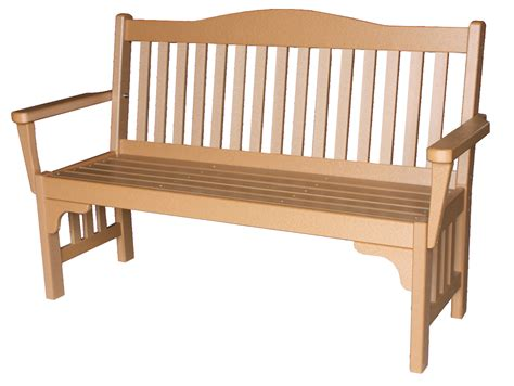 mission bench poly park mission bench amish direct furniture